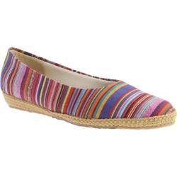 Women's Beacon Shoes Phoenix Rainbow Guatemalan Stripe Canvas