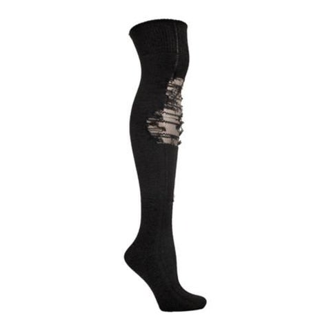 Women's Ozone Over the Knee Tatters Black