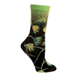 Women's Ozone Earth Crew Sock (2 Pairs) Black