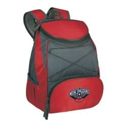 Picnic Time PTX Cooler Backpack New Orleans Pelicans Print Red
