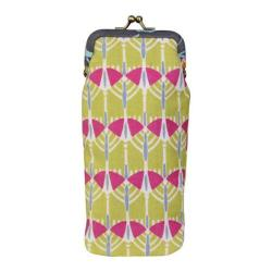 Women's Amy Butler Fancy Eye Glass Case Victoria Trees Lemon