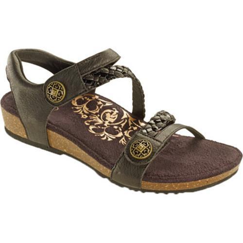 9f6f069755d Shop Women s Aetrex Jillian Black Leather - Free Shipping Today - Overstock  - 9773780