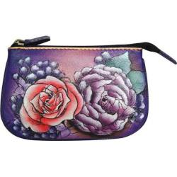 Women's Anuschka Medium Coin Purse Lush Lilac