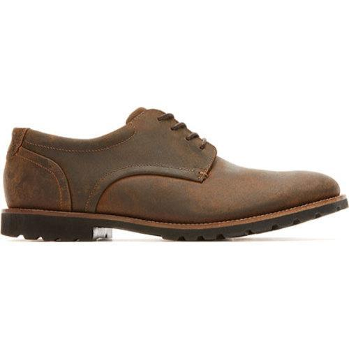 Men's Rockport Sharp & Ready Colben Brown II Leather - Thumbnail 1