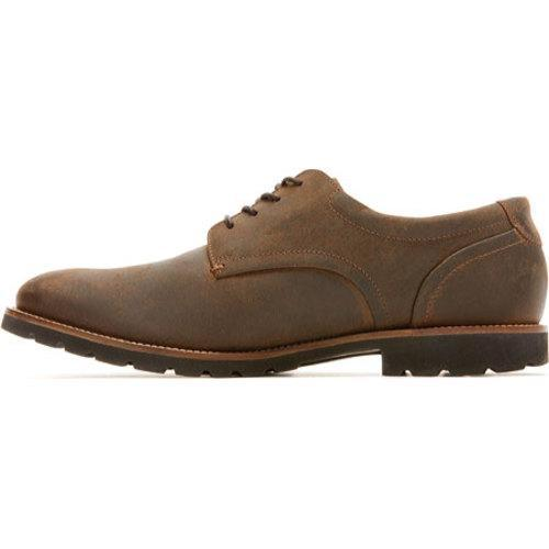 Men's Rockport Sharp & Ready Colben Brown II Leather - Thumbnail 2