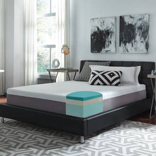 Slumber Solutions Choose Your Comfort 12 Inch King Size Gel Memory Foam Mattress