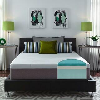 Exceptional Slumber Solutions Choose Your Comfort 14 Inch California King Size Gel  Memory Foam Mattress