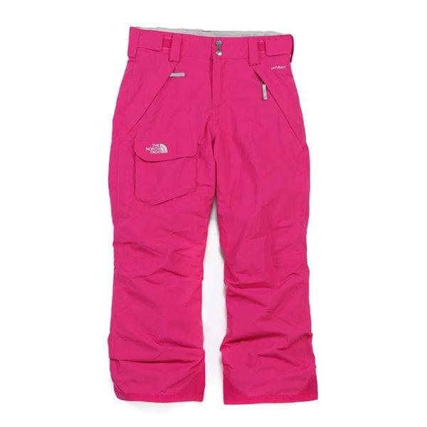 The North Face Girls 'Freedom' TNF Black Ski Pants