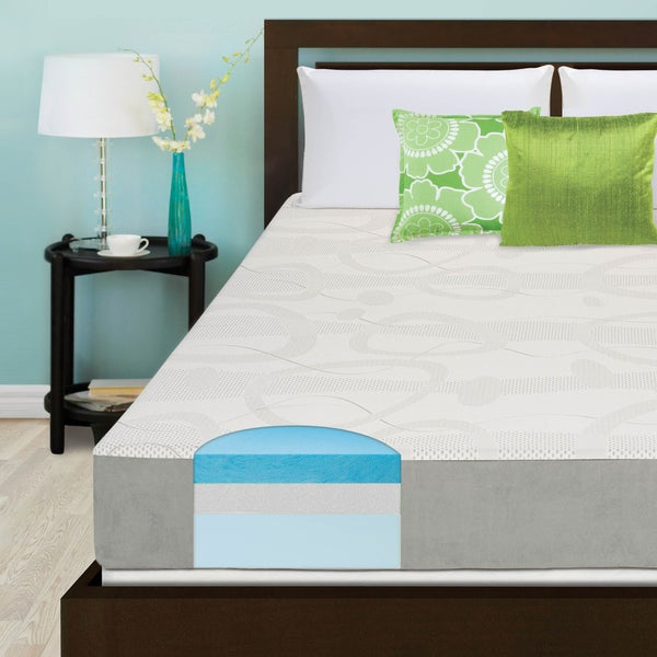 Slumber Solutions Choose Your Comfort 8-inch Full-size Gel Memory Mattress