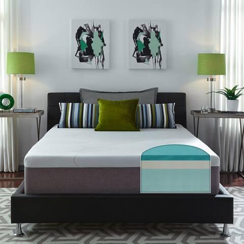 Slumber Solutions Choose Your Comfort 14-inch Gel Memory Foam Mattress - White