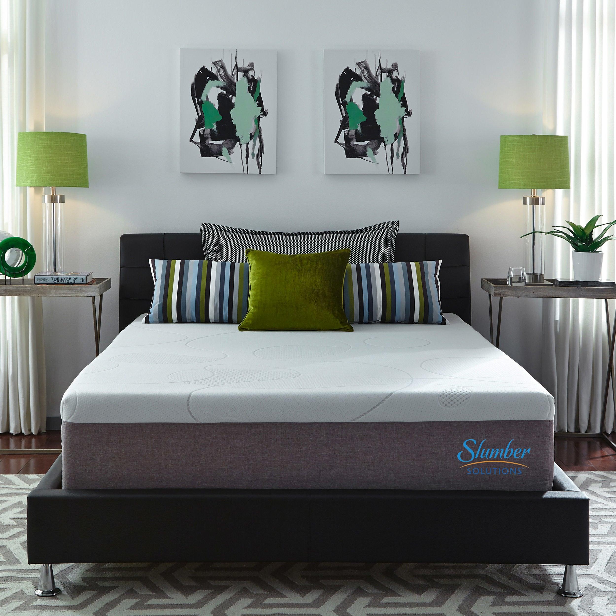 Shop Slumber Solutions Choose Your Comfort 14 Inch Gel Memory Foam