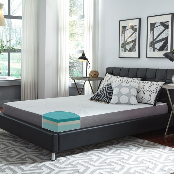 Slumber Solutions Choose Your Comfort 8-inch Gel Memory Foam Mattress