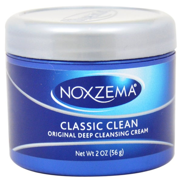 how to use noxzema deep cleansing cream