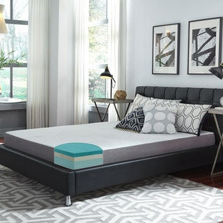Slumber Solutions Choose Your Comfort 8-inch Queen-size Gel Memory Mattress (Option: Firm)