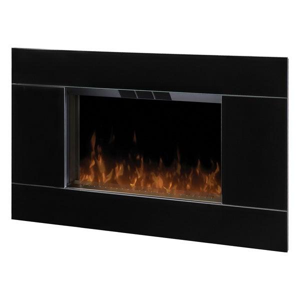 Dimplex DWF-5328B3A Wall Mount Electric Flame Fireplace-Gloss Black
