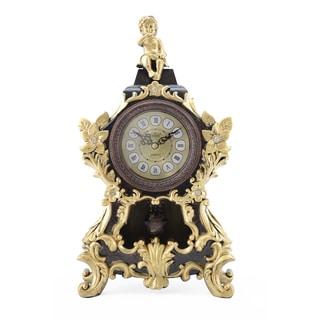 Sitting Angel Table Top Clock with Pendulum