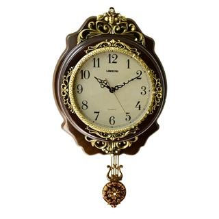 Classic Wall Clock with Pendulum