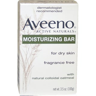 Aveeno Active Naturals Moisturizing Bar for Dry Skin with Colloidal Oatmeal 3.5-ounce Soap