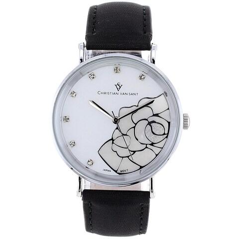 Christian Van Sant Women's Fluer Watch