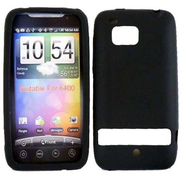 INSTEN Soft Silicone Phone Case Cover for HTC Thunderbolt 6400/ Incredible HD