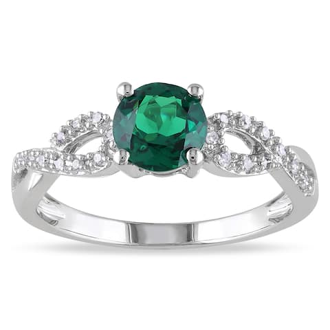 21d5c5653e34a Emerald, Promise Rings | Find Great Jewelry Deals Shopping at Overstock