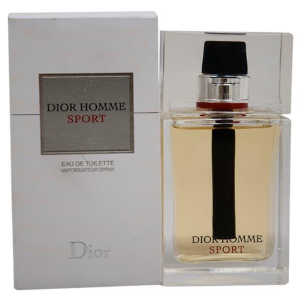 cdde7b21e8 Christian Dior Homme Sport Men's 3.4-ounce Eau de Toilette Spray (Tester)