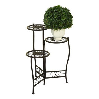 Metal Tiered Plant Stand
