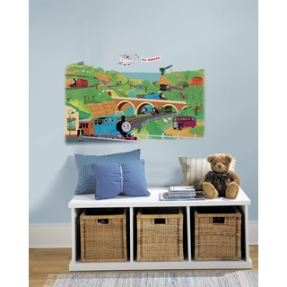 Thomas & Friends Peel & Stick Giant Wall Decal