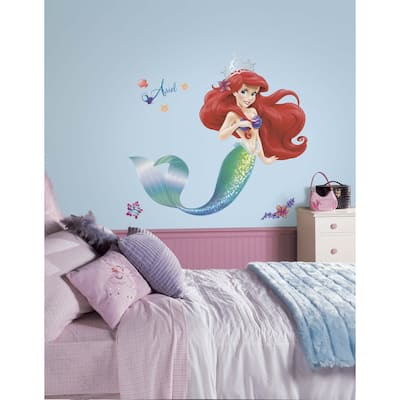 Disney's The Little Mermaid Peel & Stick Giant Wall Decals