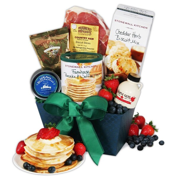 Shop New England Breakfast Gift Basket Classic - Free Shipping Today - Overstock - 8600837