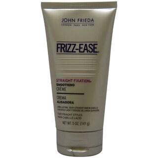 John Frieda Frizz-Ease Straight Fixation Smoothing 5-ounce Creme