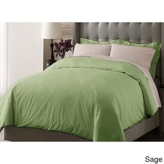 Oversize Cotton 3-piece Duvet Cover Set