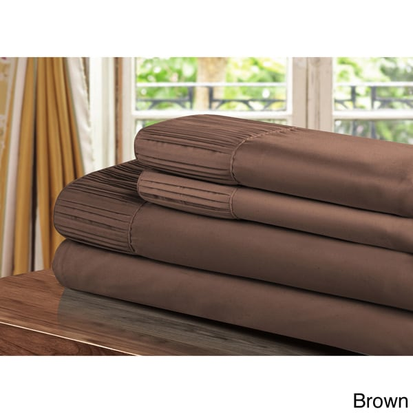 "Madison Home Collection Micro Fiber Queen Pillowcases 20/"" x 30/"""