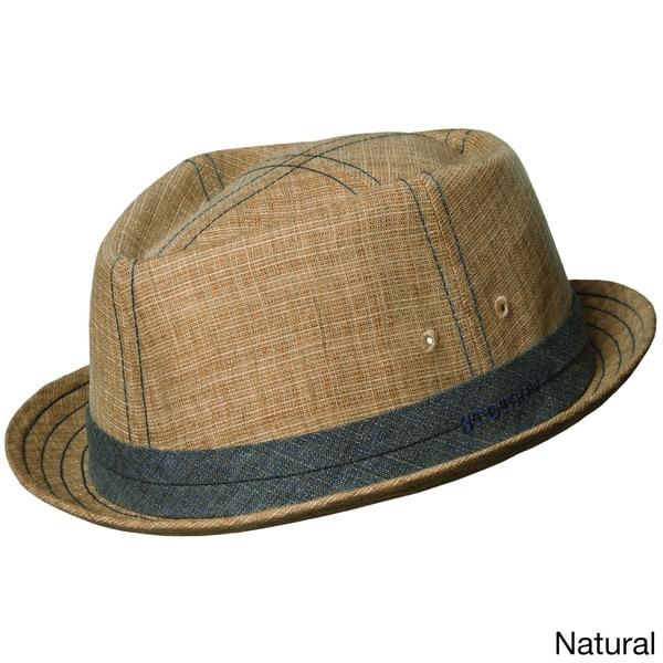Shop Stetson 'Trilby' Linen Bucket Hat