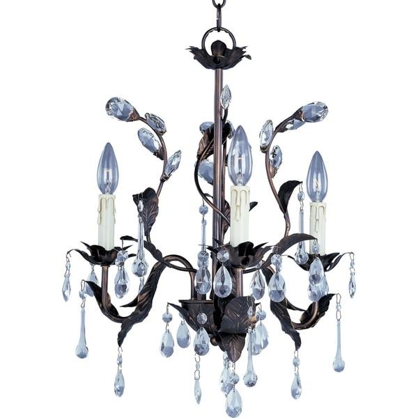 Maxim Grove Crystal 3-light Chandelier