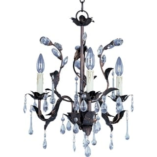 Maxim Grove Crystal 3-light Chandelier