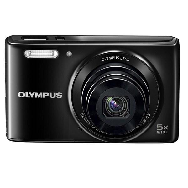 Olympus Stylus VG-180 16 Megapixel Compact Camera - Black