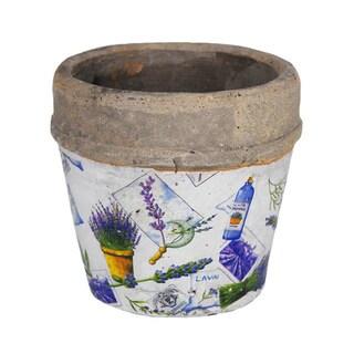 Large Patchwork Flower Pot