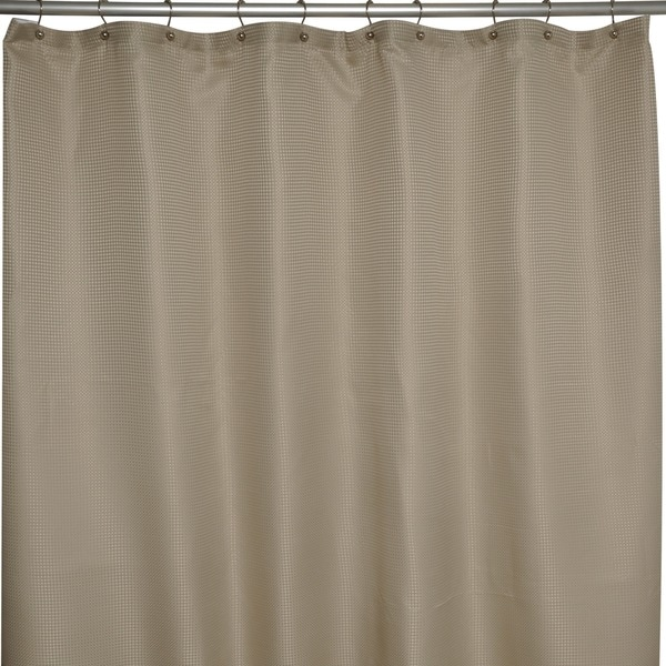 Soho Waffle Taupe Shower Curtain - Free Shipping On Orders Over ...