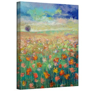 Michael Creese 'Dancing Poppies' Gallery-Wrapped Canvas Art