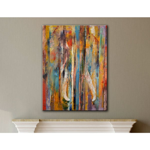 Michael Creese 'Elephant' Gallery-Wrapped Canvas