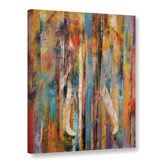 The Curated Nomad Michael Creese 'Elephant' Gallery-wrapped Canvas