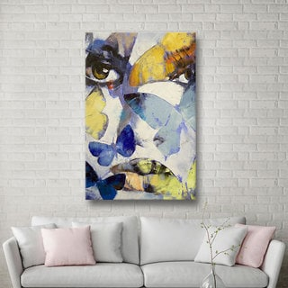 Michael Creese 'Gothic Butterflies' Gallery-Wrapped Canvas
