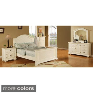 Bedroom Furniture Overstock picket house napa white 5-piece set - free shipping today