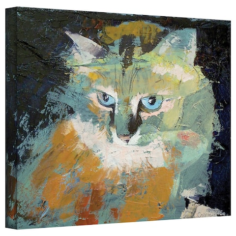 Michael Creese 'Himalayan Cat' Gallery-Wrapped Canvas Art