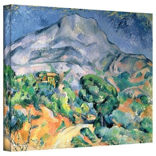 Art Wall Paul Cezanne 'Mont Sainte-Victoire' Gallery-Wrapped Canvas