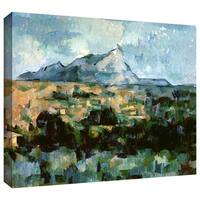 Art Wall Paul Cezanne 'Montagne Sainte-Victoire' Gallery-Wrapped Canvas