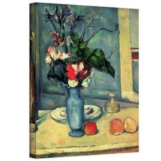 Paul Cezanne 'The Blue Vase' Gallery-Wrapped Canvas Art