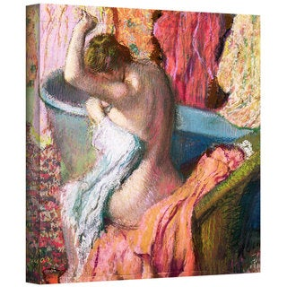 Edgar Degas 'Seated Bather' Gallery-Wrapped Canvas Art