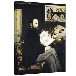 Art Wall Edouard Manet 'Portrait of Emile Zola' Gallery-wrapped Canvas